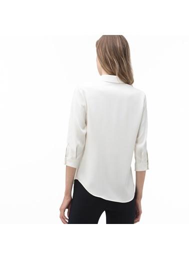 Lacoste Kadın  Gömlek CF0002.02A Beyaz